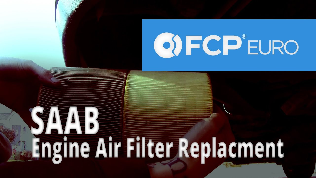 Saab Engine Air Filter Replacement 9 5