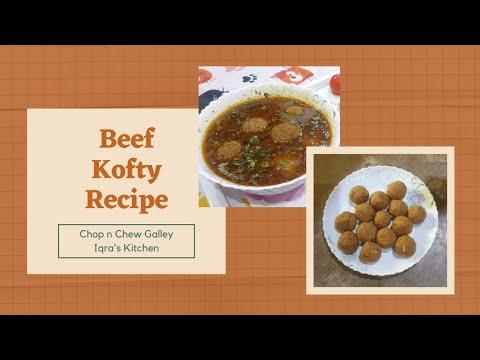 kofta-curry-recipe-urdu/hindi-|-lazeez-homemade-kofty-|-iqra's-kitchen