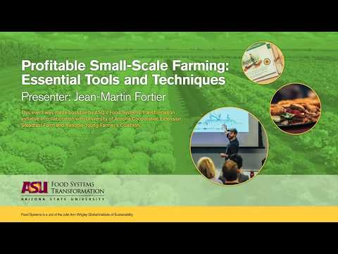 Module 4 | Profitable Small-Scale Farming: Essential Tools a