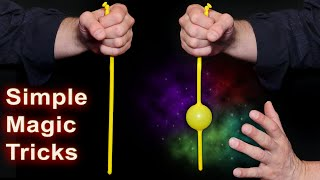 Easy Magic Tricks - Try at Home