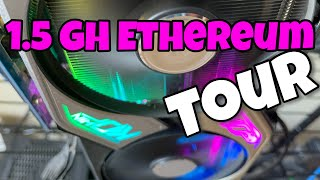 Tour My 1.5GH Ethereum Mining Farm  In Apartment CyberPunk 2077 Crypto Lifestyle