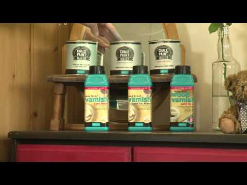 A Quick how-to Use Chalk Paint Maker by Polyvine
