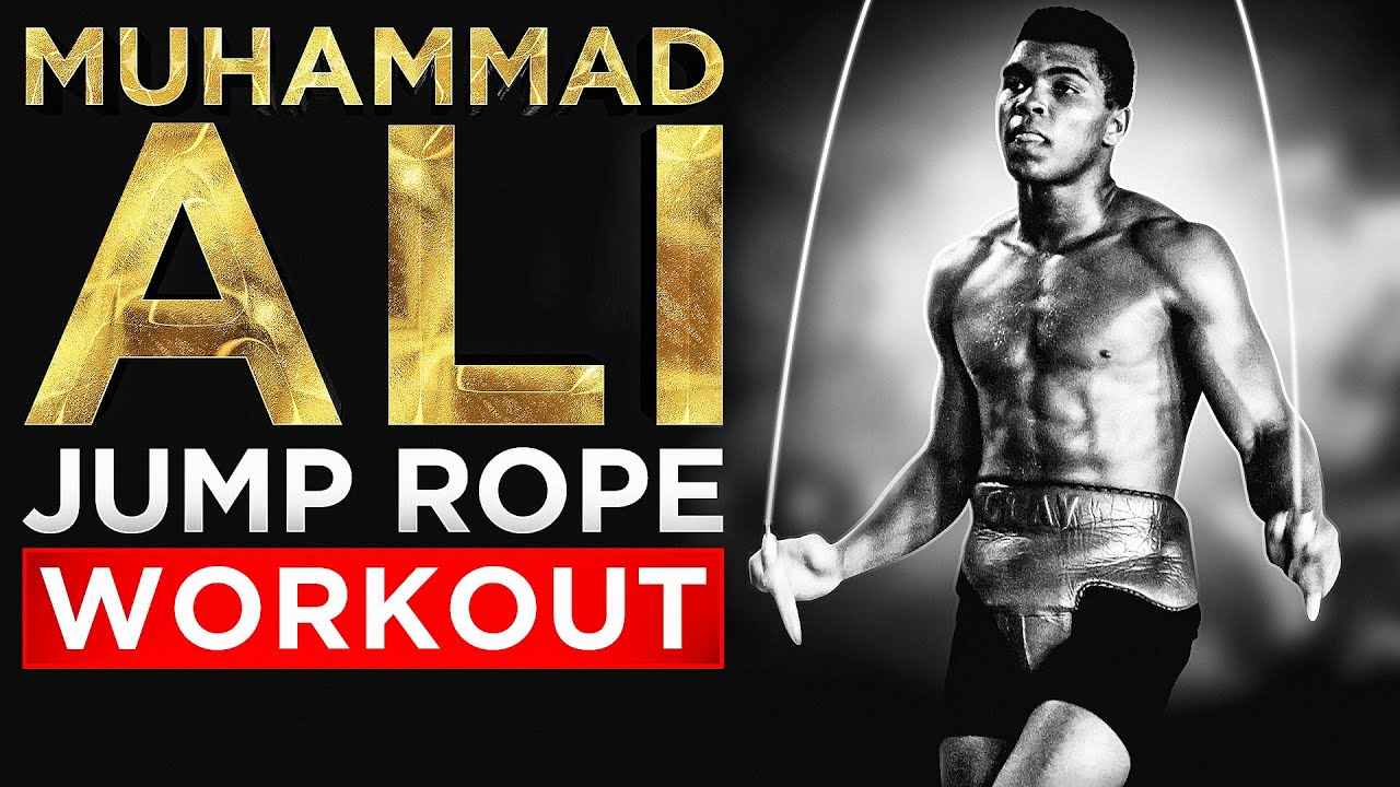Muhammad Ali Jump Rope Workout