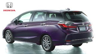 The All New Honda Shuttle - Restyled Compact Wagon | Supercar TV