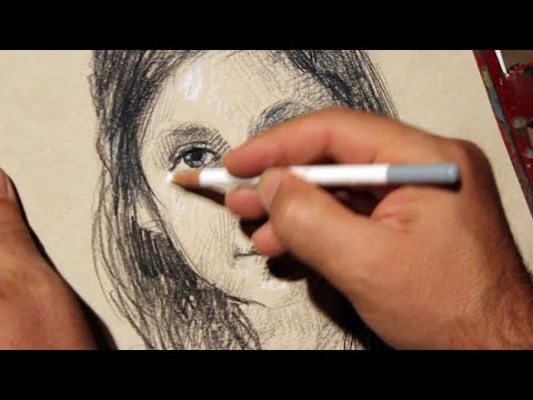 Tutorial: how to draw a portrait - Drawing - Visual Art Form