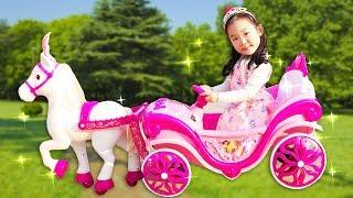 공주마차 타고 공주파티 가요 Princess Carriage- 마슈토이 Mashu ToysReview