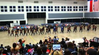 Psja high school bearettes team hiphop dance at adts competition 2016