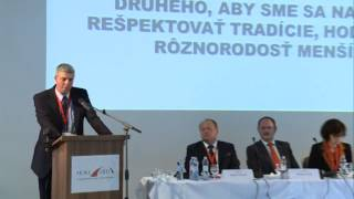 Príhovor Bélu Bugára na VIII. Sneme Most-Híd/Bugár Béla elnöki beszámolója a Híd VIII. közgyűlésén