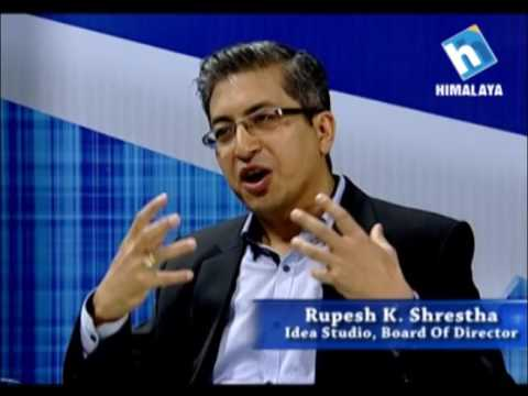 Idea Talk With Rupesh K.Shrestha ( Idea Studio,Board Of Director)