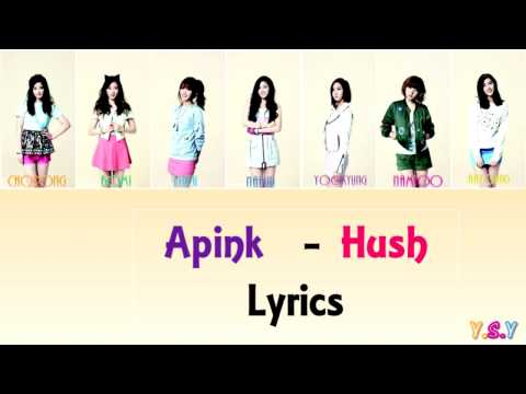 Apink (에이핑크) - Hush [Han/Rom/Eng Lyrics]