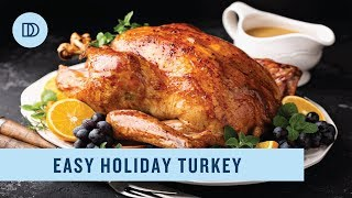 EASY Roast Turkey & Gravy Recipe (FOOLPROOF & JUICY!)