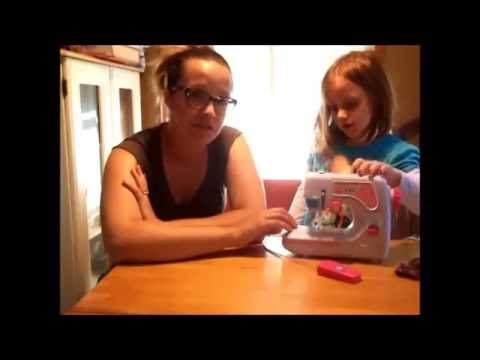 Review Discovery Kids Sewing Machine YouTube Cool Discovery Kids Sewing Machine