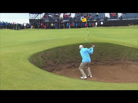 Top 5 fails from the final round of The Open   Golf Channel
