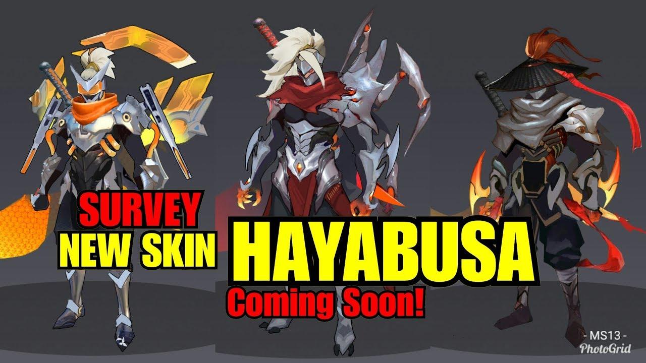 SURVEY New Skin HAYABUSA |Coming Soon | MLBB - YouTube