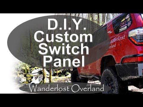 DIY Custom Dash Switch Panel Build And Install