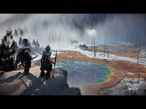 Lets play Horizon Zero Dawn: Frozen Wilds for the first time