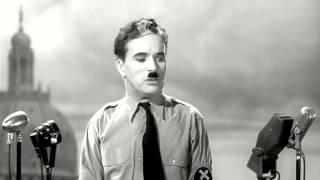 """Чарли Чаплин. """"Великий диктатор""""."""