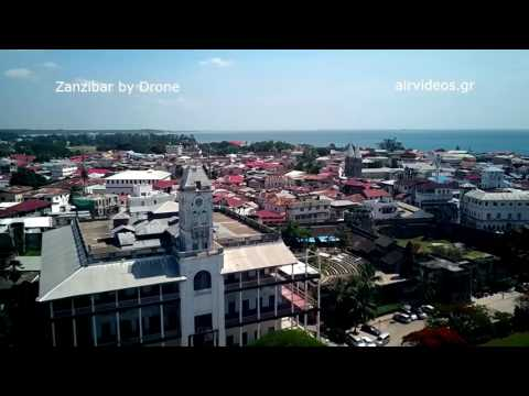 Zanzibar by Drone | Stone Town