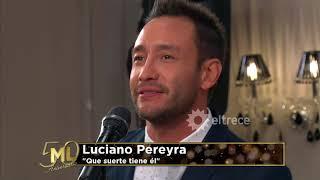 Luciano Pereyra cantó
