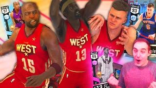 NBA 2K17 My Team VINCE WILT & PORZINGIS! INCREDIBLE DIAMOND TRIO!
