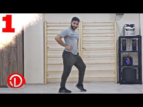"""Уроки Лезгинки """"Чеченский ход"""" Lezginka Video Dersliyi 1 (NEW)"""