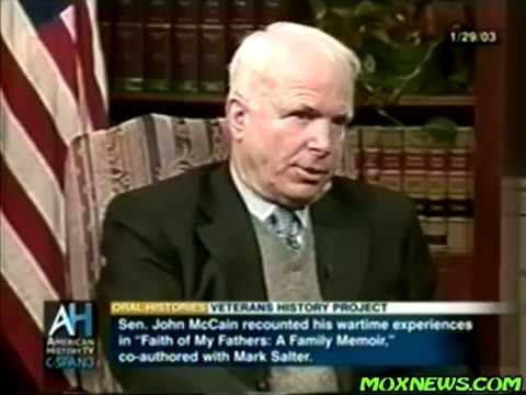 John McCain Remembers His Stay At Hanoi Hilton And The Fire On USS Forrestal