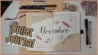 Bullet Journal November | Viszkok Fruzsi