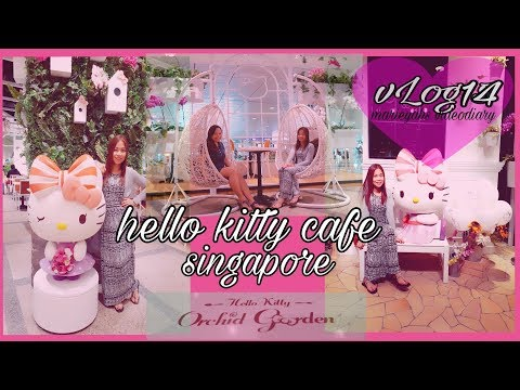 Hello Kitty Cafe In Singapore #vLog14 | Marieyahs Videodiary💖