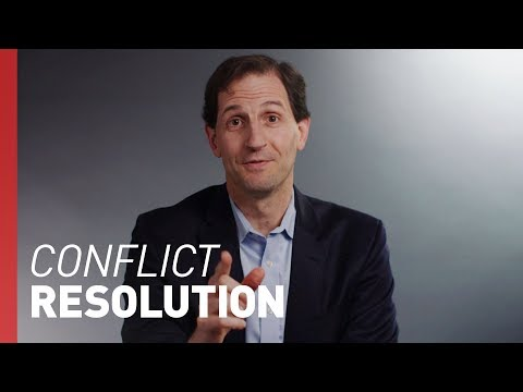 How to Resolve Difficult Conflicts