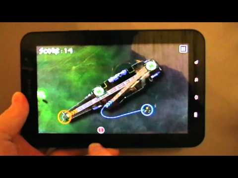 Flight Director Android Game on Galaxy Tab