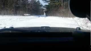 Scotia NY - 2013, February : Wheeling in the snow 1