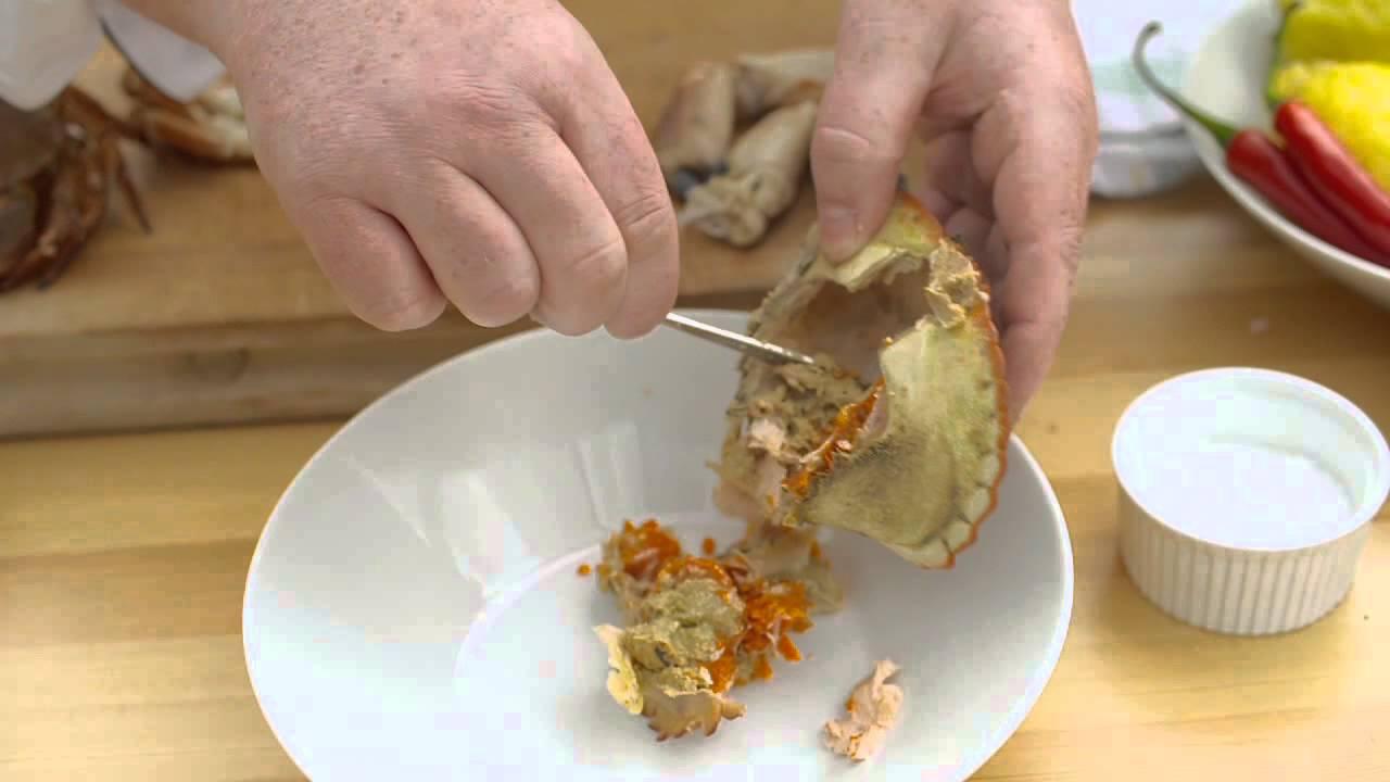 krabbe pave giftig