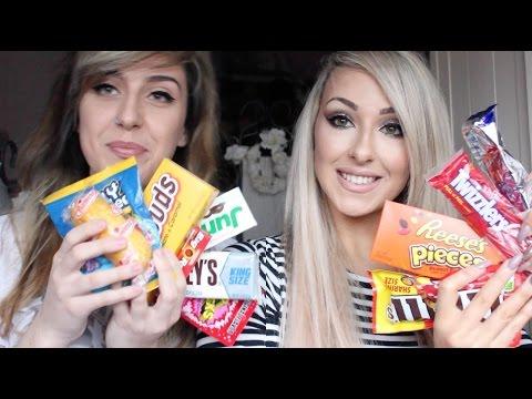 IRISH GIRLS TRY AMERICAN CANDY! | TASTE TEST