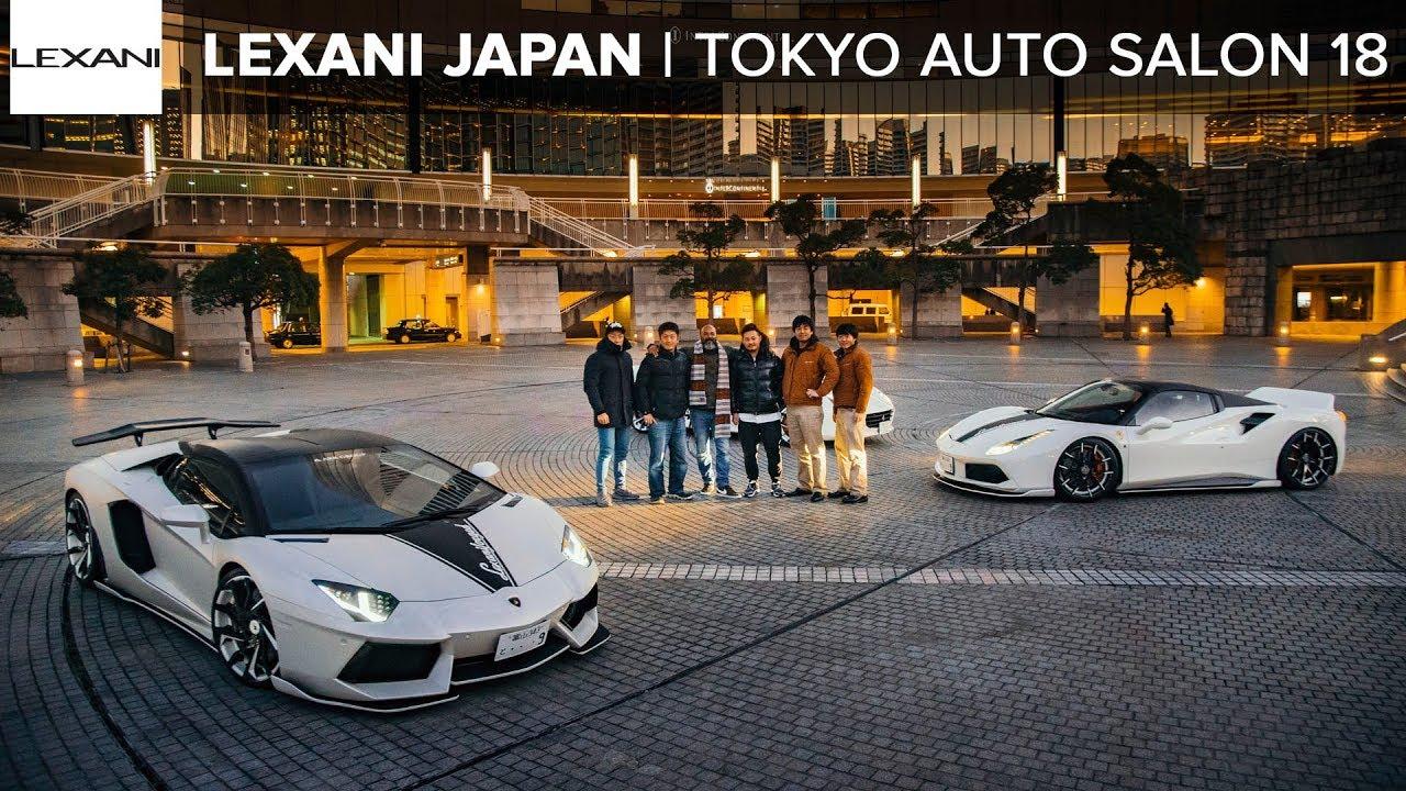 TOKYO AUTO SALON 2018: LEXANI WHEELS JAPAN TOUR