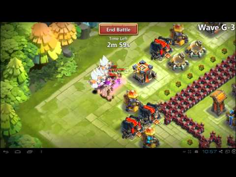 Castle Clash - New Patch And Minotaur Chieftain