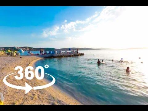BEACH BAR FLASHBACK — TROGIR | 360º VR | Pointers Travel
