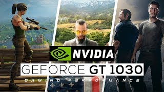 NVIDIA Geforce GT 1030 Gaming Performance 2018!