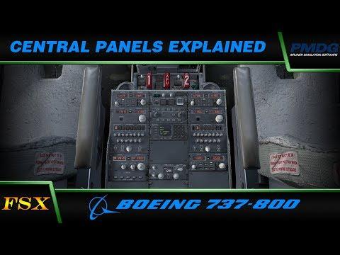 PMDG 737 NGX: Central Panels Explained