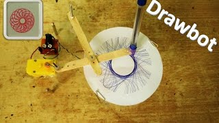 How to make a drawing robot – Spirograph – DIY Robot