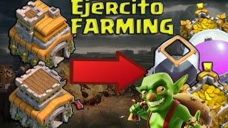 EJERCITO FARMING PARA AYUNTAMIENTO 8, TH9 Y TH7 | Clash of Clans