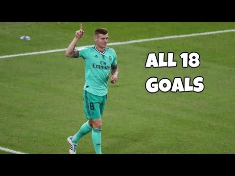 Toni Kroos All 18 Goals For Real Madrid 2014-2020