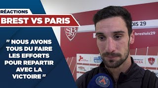 VIDEO: REACTIONS : BREST vs PARIS SAINT-GERMAIN