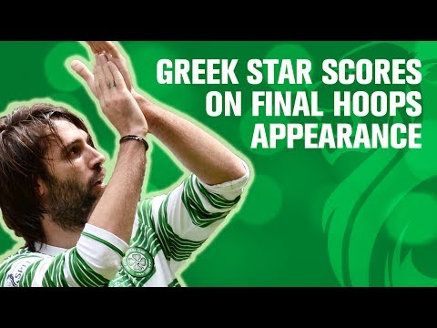 Samaras scores on last ever appearance for Celtic!