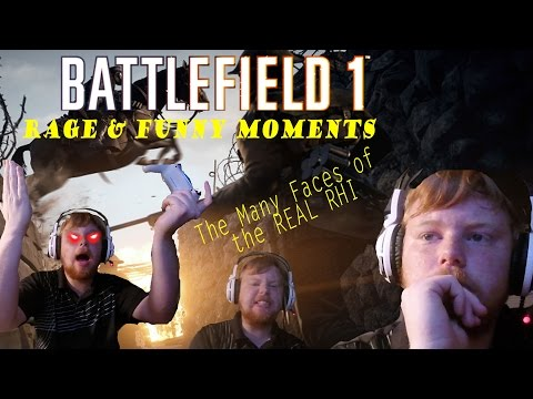 SO MUCH EMOTION!-Battlefield 1 Funny and Rage Moments
