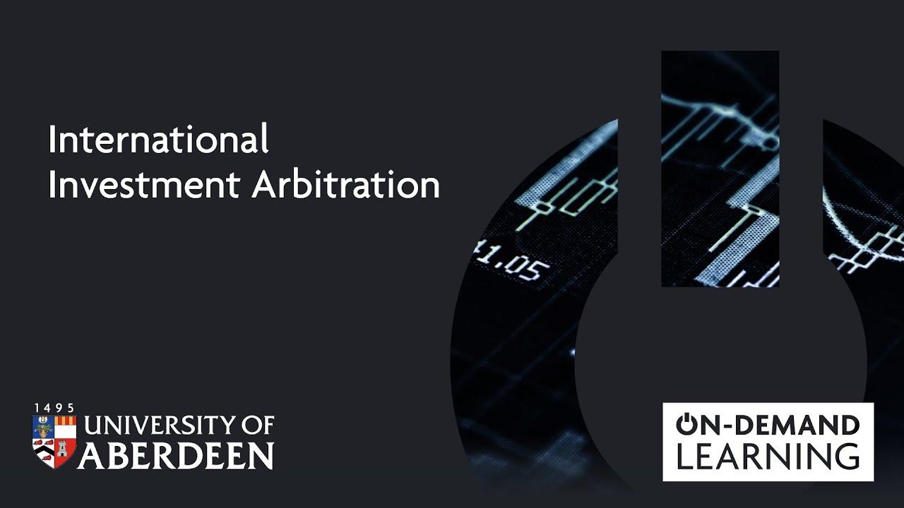 Arbitration Certification Program Ca Department Of >> International Investment Arbitration Study Here The University