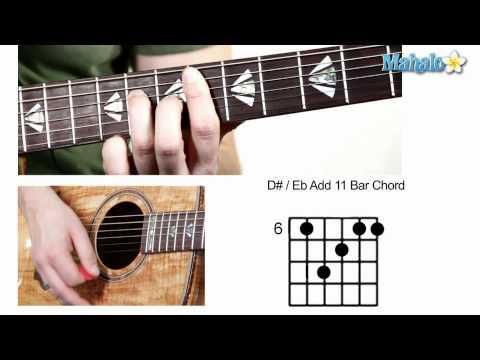 how-to-play-d-sharp-:-e-flat-add-11-bar-chord-on-guitar