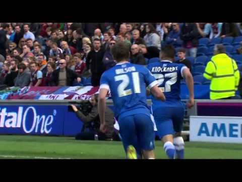 FOOTBALL LEAGUE HIGHLIGHTS   Brighton v Burnley