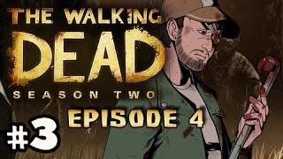 SAVE SARAH? - The Walking Dead Season 2 Episode 4 AMID THE RUINS Walkthrough Ep.3