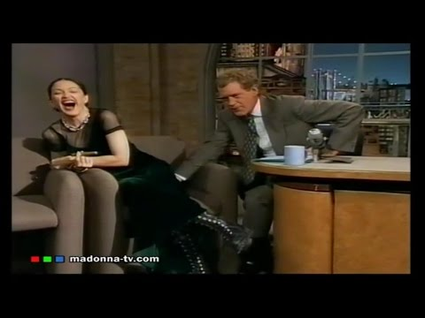 Madonna on Letterman 1994 (Full Uncut Swearing)