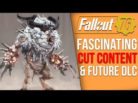 Some of the Coolest Cut Content from Fallout 76 - What the Game Almost Was |